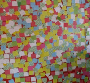 post it note wall 1